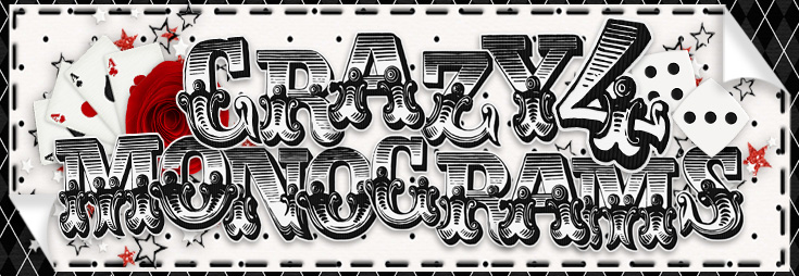 Crazy 4 Monograms - MyMemories Designer
