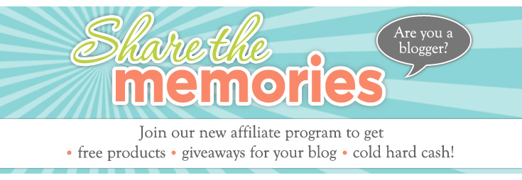 Share the Memories Affiliate Program