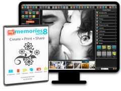 MyMemories Suite digital scrapbooking software