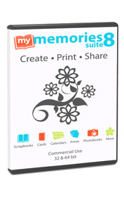 My Memories Suite digital scrapbooking software