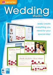 MyMemories Wedding Studio software