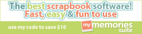 MyMemories Scrapbooking Suite Offer! Use My Code!! BestSoftware-500x120